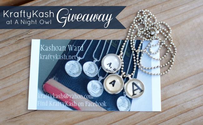 KraftyKash Giveaway at @anightowlblog #kraftykash