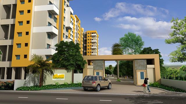 Main Entrance Gate of Vastushodh's UrbanGram - How is Vastushodh's UrbanGram at Kondhawe Dhawade, near Warje, in Pune 411 023?