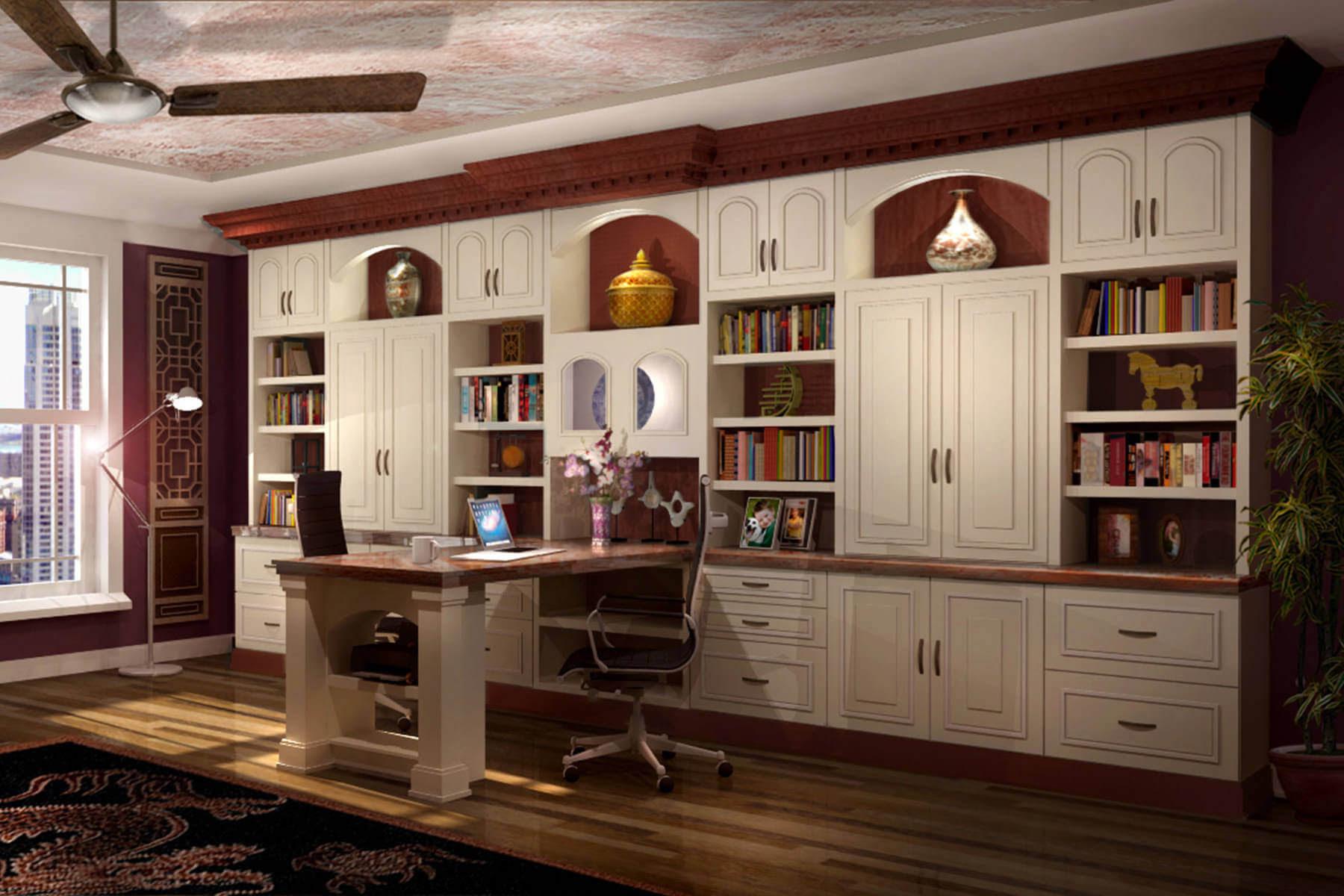 26 Home Office Designs (Desks & Shelving) by Closet Factory
