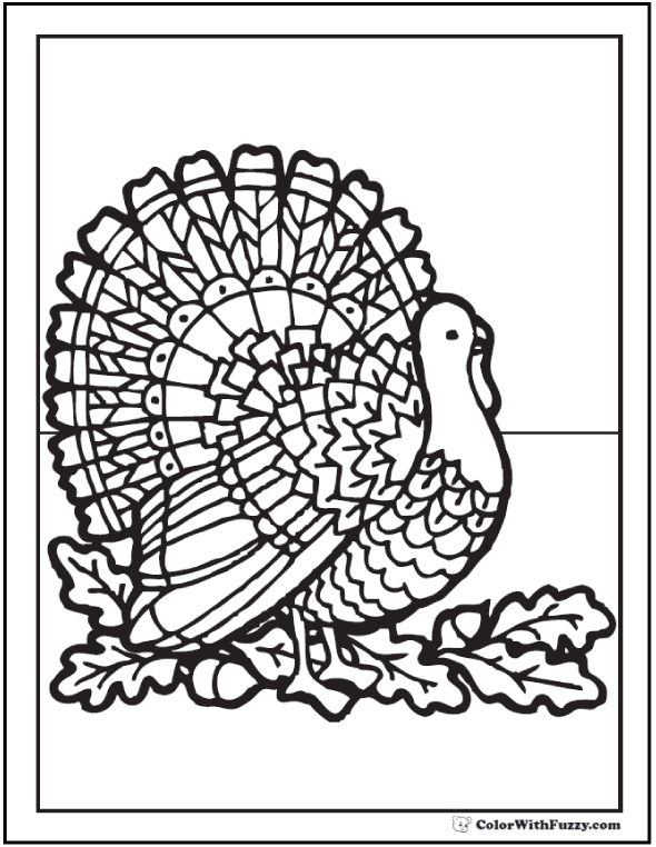 Fuzzy\u002639;s Printable Coloring Pages