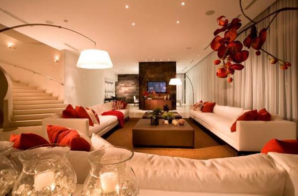 333227 ideias decoracao salas com vermelho Veja como usar vermelho na decoração