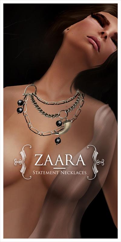 {Zaara} : Statement necklaces