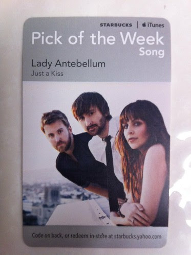Starbucks iTunes Pick of the Week - Lady Antebellum - Just a Kiss