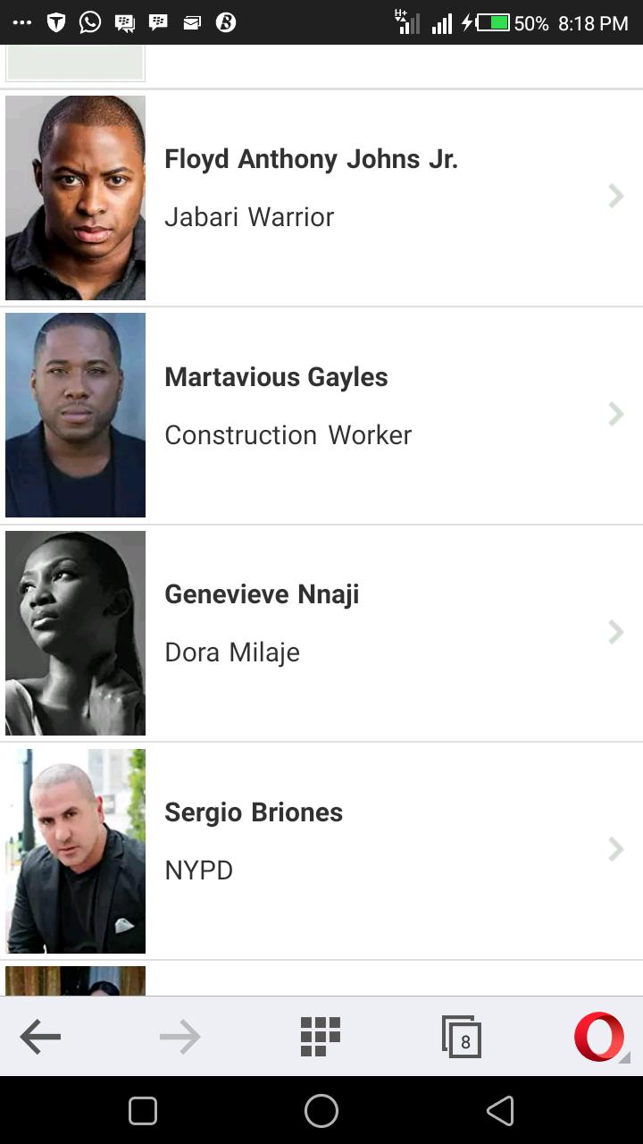 Genevieve Nnaji Replaces Funke Akindele In 2018 Avengers Infinity War Movie
