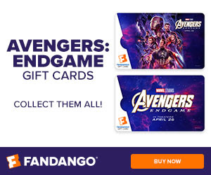 300x250 Fandango 'Avengers: Endgame' Gift Cards