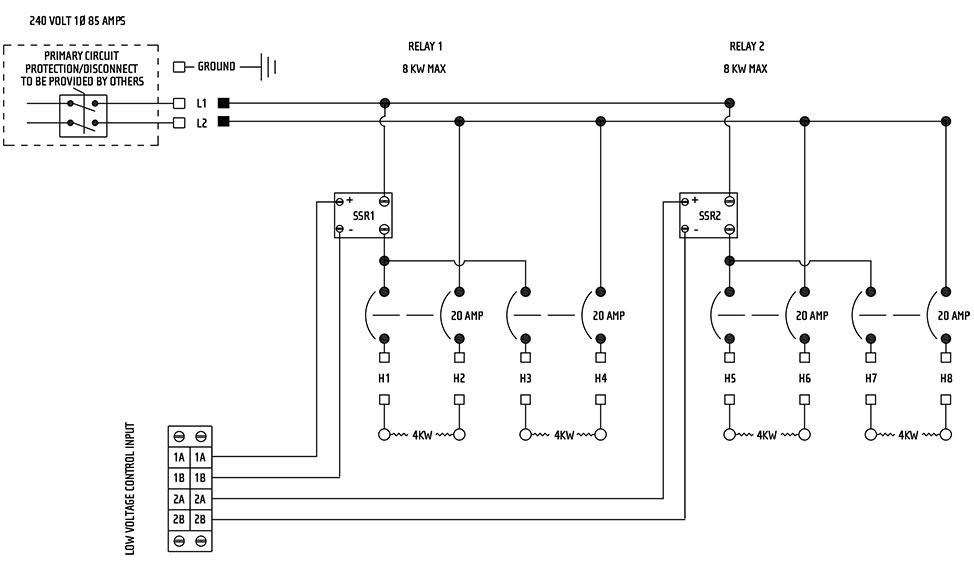 Wall Heater Wiring Schematic