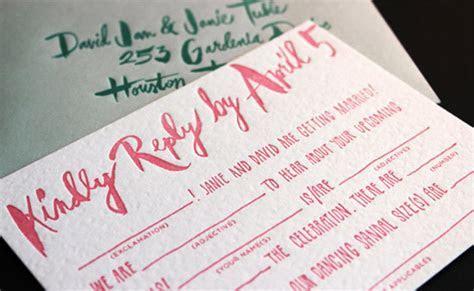 9 Creative Mad Libs Wedding Ideas   HuffPost