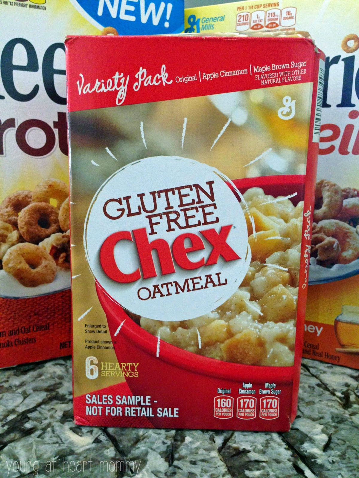 A Breakfast Boost With Cheerios Protein + Chex Gluten Free ...