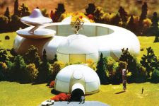 Proposed plans for the 'embassy' that the Raelians say they hope to build in Cambodia.  PHOTO SUPPLIED