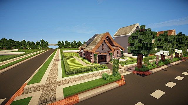 Realistic Houses Minecraft Project