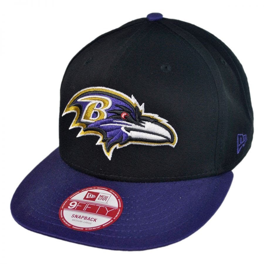 New Era Baltimore Ravens NFL 9Fifty Snapback Baseball Cap NFL Football Caps