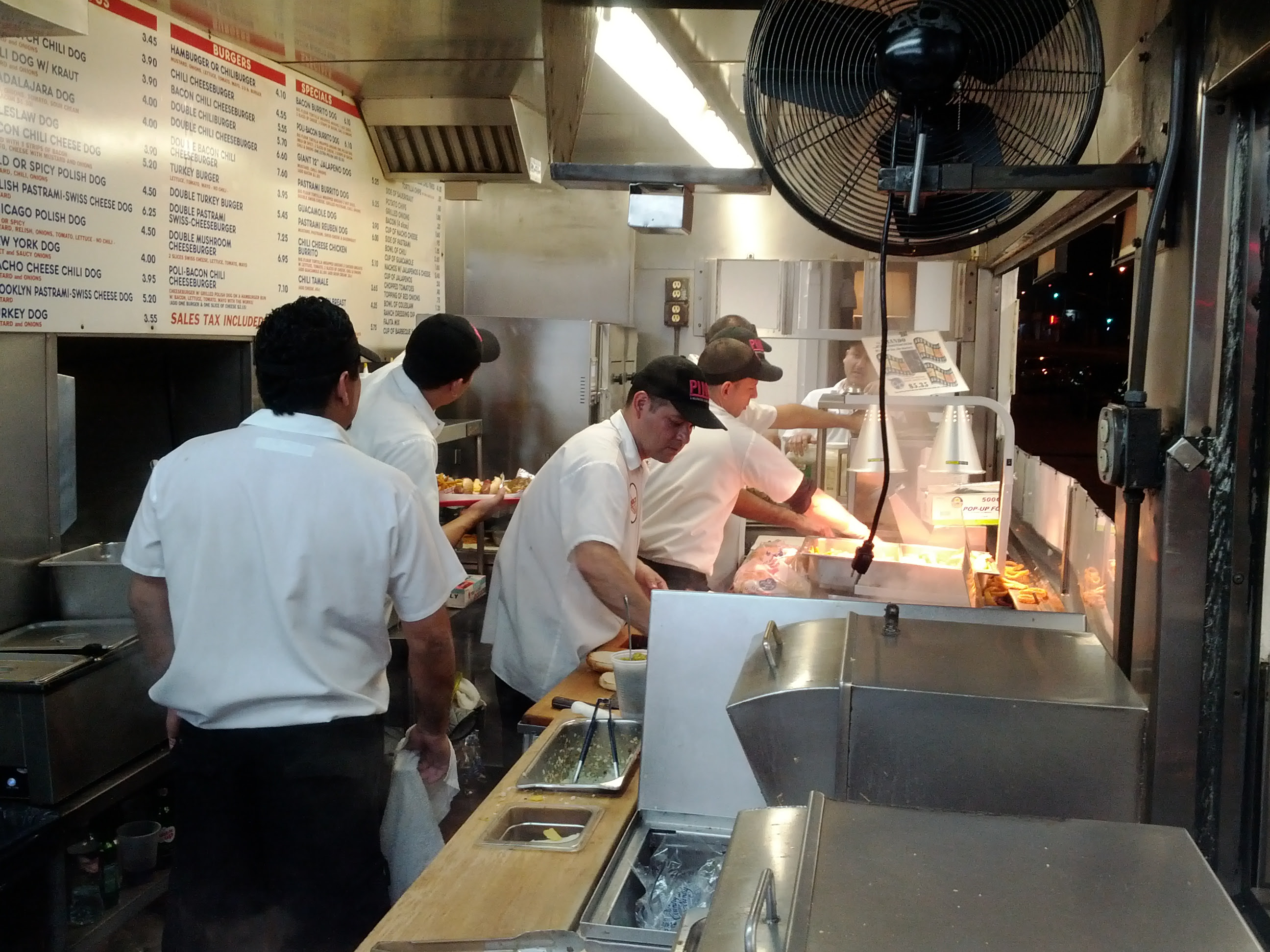 busy restaurant kitchen. Busy Restaurant Kitchen Hours After Dinner At N