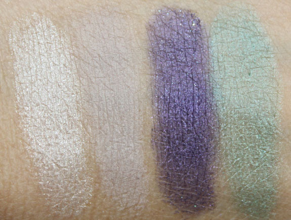 Disney Ariel Collection by Sephora Part Of Your World Eyeshadow Palette Swatches