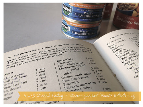 Set up Your Pantry for The Instant Meal