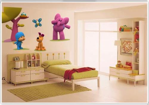 El beb entre flores vinilos infantiles for Vinilos muebles infantiles