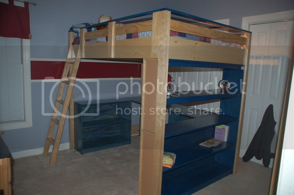 Ana White   Build a How to Build a Loft Bed   Free and Easy DIY ...