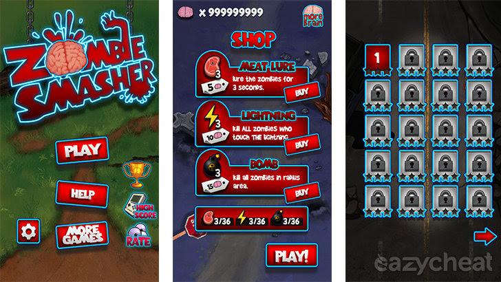 Zombie Smasher v1.6 Cheats