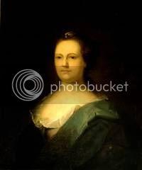 wife of Benjamin Franklin