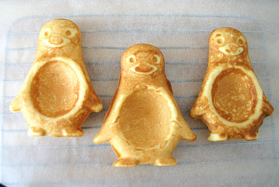 Penguin Waffles- Woodles