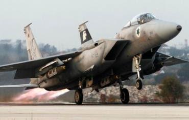 An Israel Air Force jet