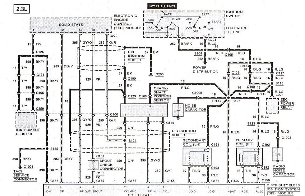 1992 Ford Ranger 2 9 Distributer Wiring