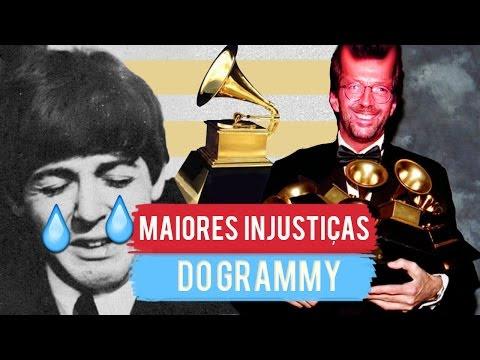 5 MAIORES INJUSTIÇAS DO GRAMMY!