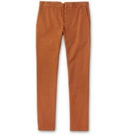 Band Of Outsiders Straight-leg Cotton Trousers