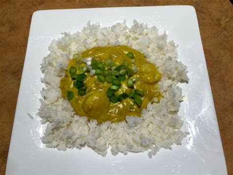 fashioned curried scallops  rice soups  slow