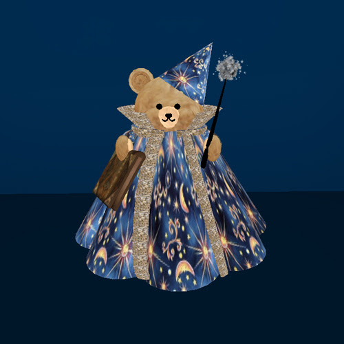 2007 Halloween Wizard Bear