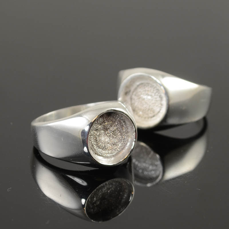 s36754 Findings - Size 12 Bezel Ring - Silverplated (1)