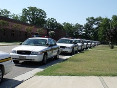 Police lineup by Teckelcar