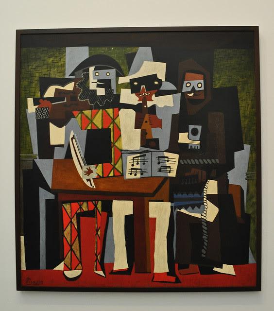 Three Musicians - Pablo Picasso