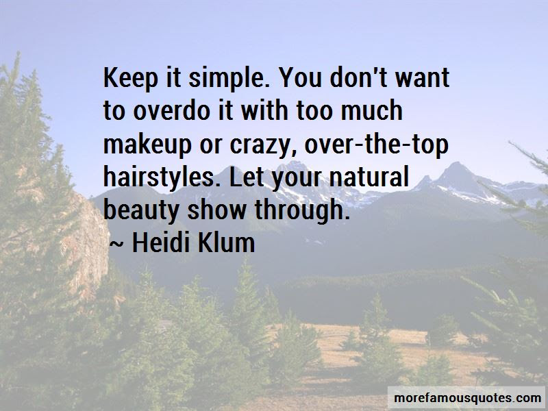 Quotes About Natural Beauty No Makeup Top 9 Natural Beauty No