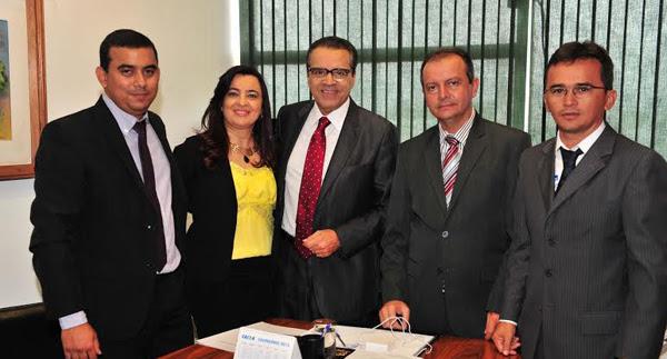 Henrique com prefeitos