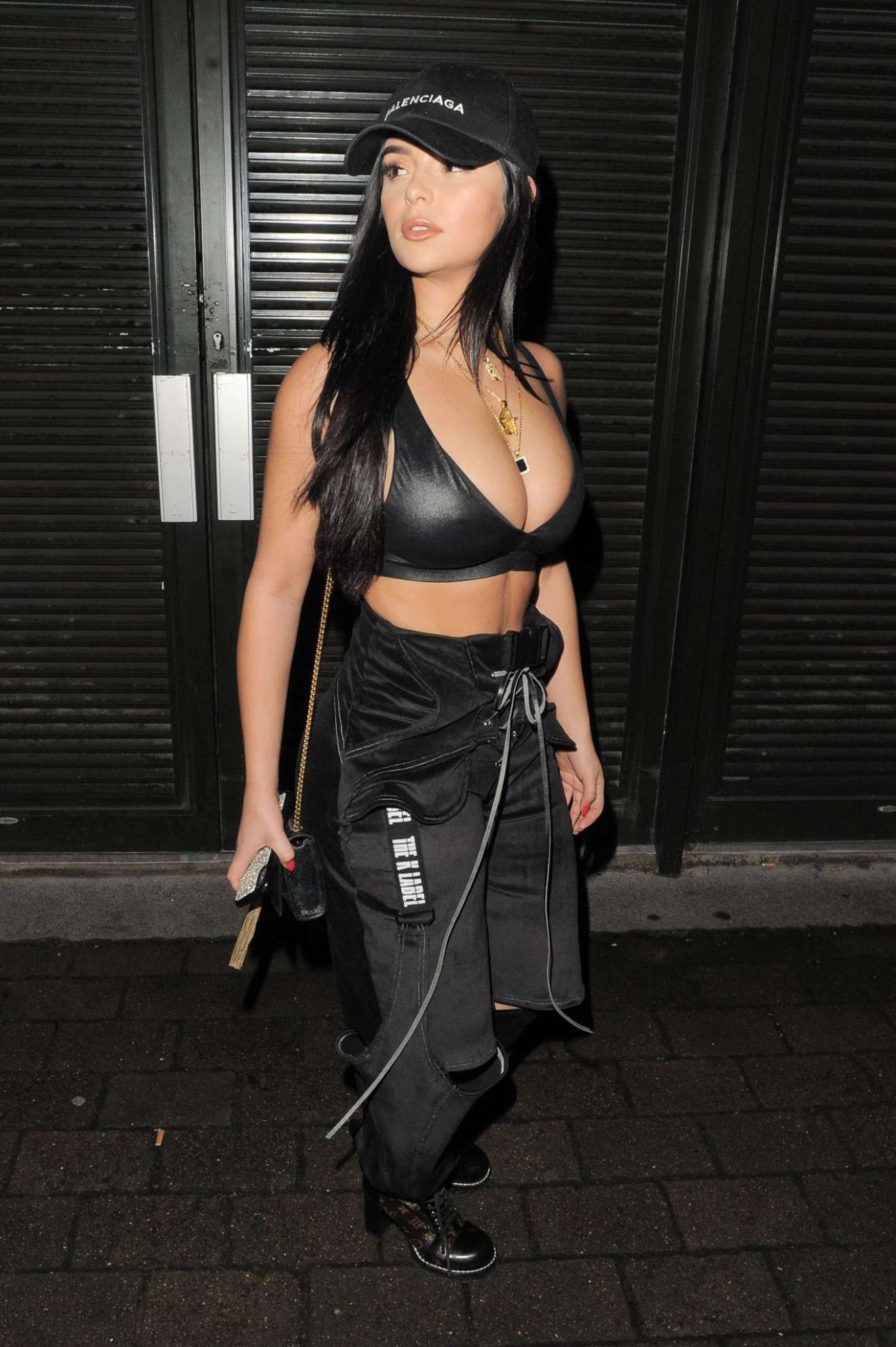 Demi Rose – Seen With DJ Chris Martinez at Fabric Club in London