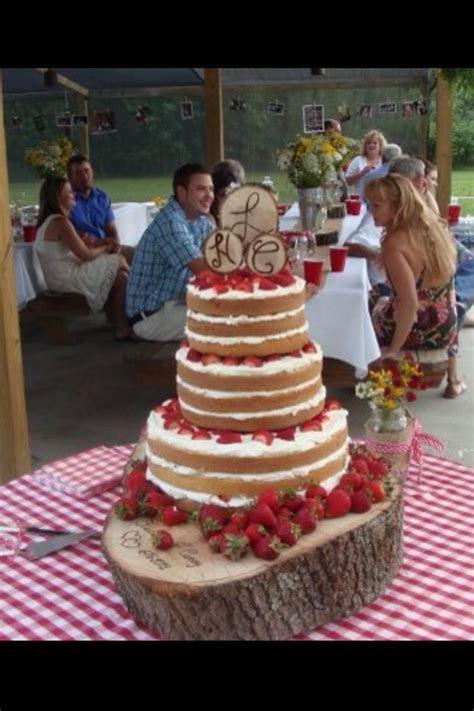 Strawberry Shortcake Wedding Cake   CakeCentral.com