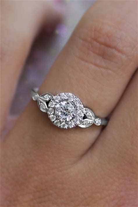 Unique engagement ring on hand! Roman Crown, in white gold