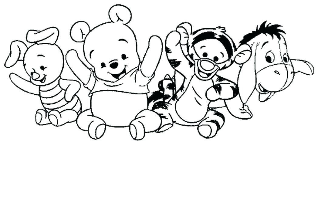Whinney The Pooh Coloring Pages At Getcoloringscom Free Printable