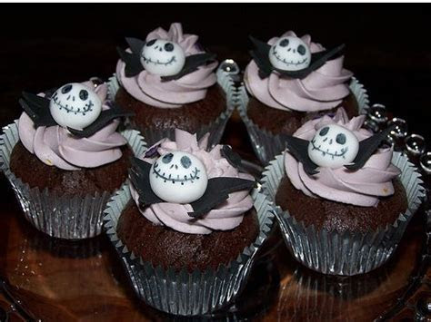 Jack Skellington Cupcakes images