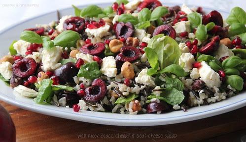 Wild Rice, Black Cherry & Goats Cheese Salad 2