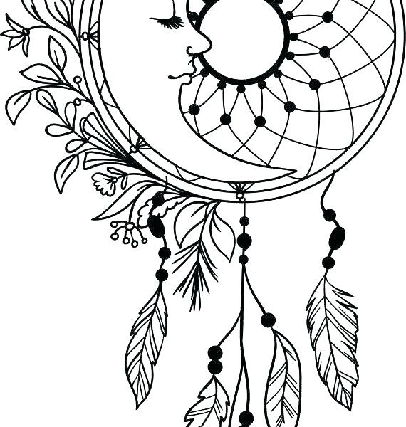 Native American Dreamcatcher Drawing | Free download on ...