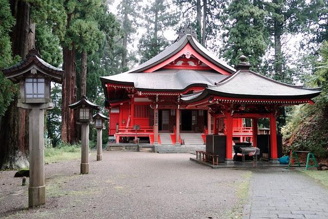 Haguro-san shrine/temple