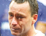 Terry: He'll do his crying in the rain