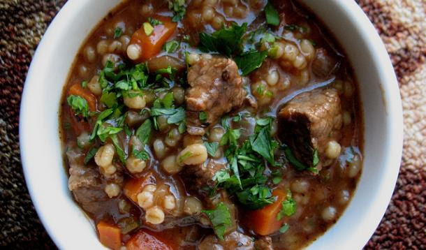 beef and barley stew jamie oliver