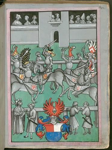 Ludwig von Eyb - Turnierbuch a