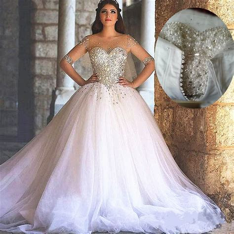 Bling Bling Wedding Dress, Ball Gown Wedding Dresses