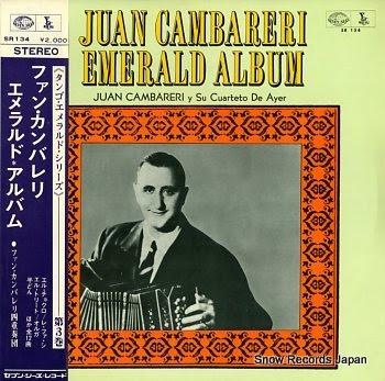 CAMBARERI, JUAN emerald album