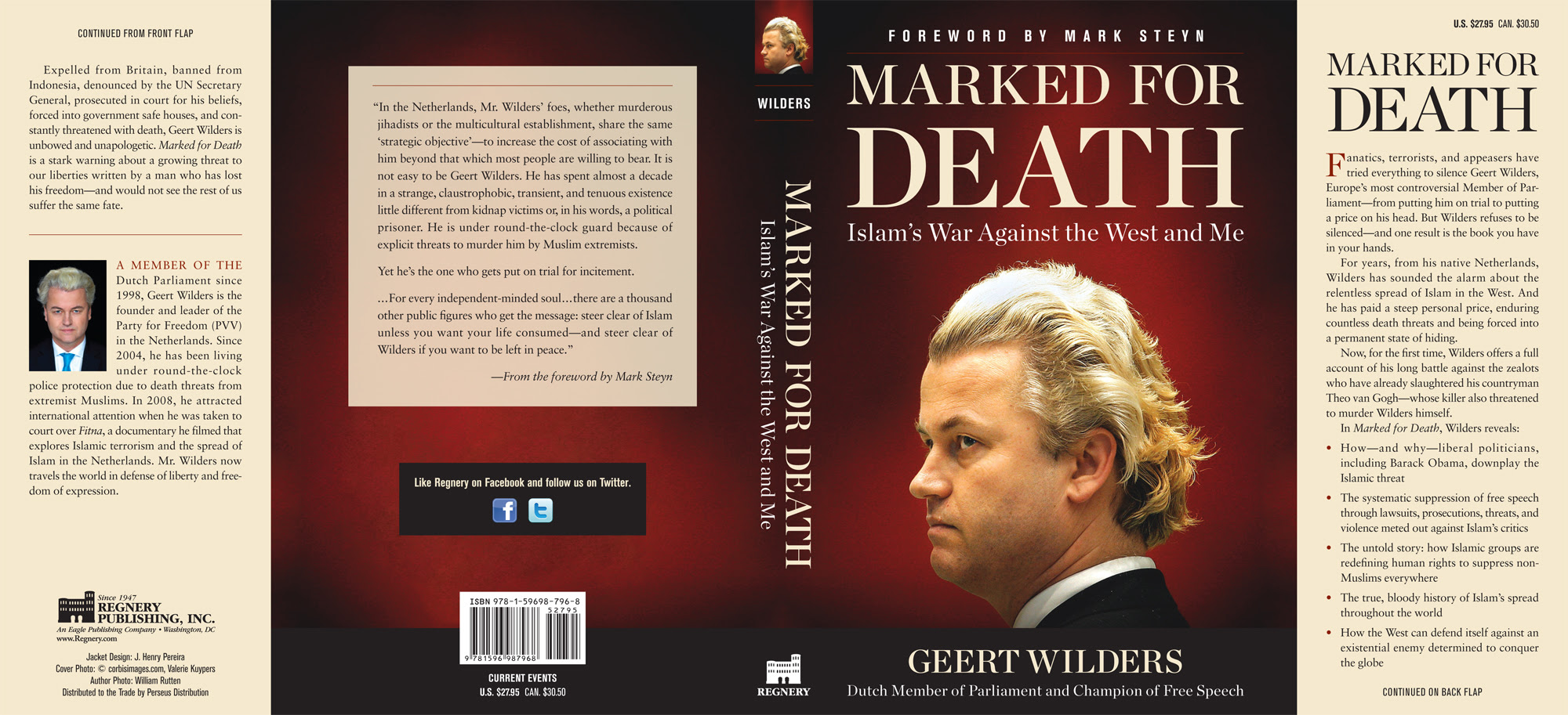 "Cover of ""Marked for death"""