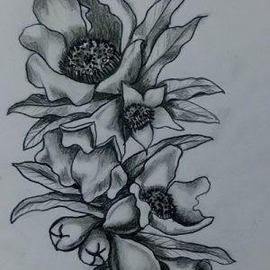 Diseño De Flores Para Tatuaje Artenativo