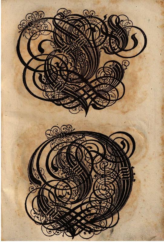 Paulus Franck - 'Schatzkammer Allerhand Versalien Lateinisch vnnd Teutsch', 1601 alphabet j